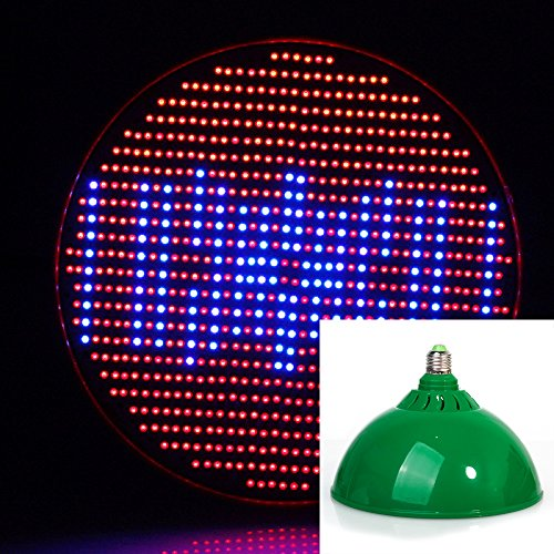 Lvjing 2014 80W E27 Based Led Grow Light Red + Blue 800 Smd Chips Full Spectrum For Indoor Flowering Plants And Hydroponics System (Green)