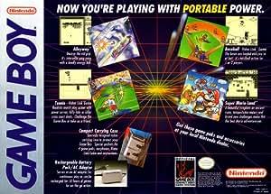 Vintage nintendo gameboy promotional poster - Porta poster amazon ...