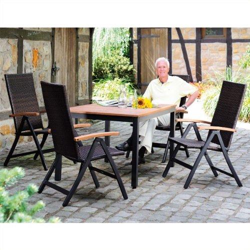 Gartenmöbel-Sitzgruppe »Rattan«, 5 teilig