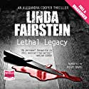 Lethal Legacy (       UNABRIDGED) by Linda Fairstein Narrated by Buffy Davies