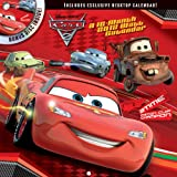 Disney Cars 2012 Wall Calendar with Bonus DVD