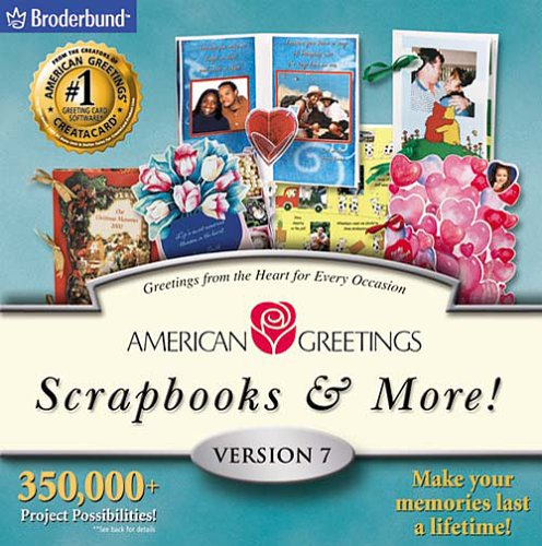 Software online store broderbund home publishing american greetings scrapbooks m4hsunfo