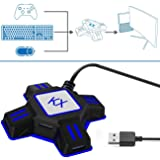 Keyboard and Mouse Adapter for Xbox One PS4 PS3 Switch PC (Color: Black)