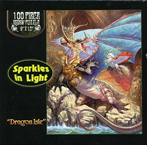 Dragon Isle - Jigsaw Puzzle - 100 Pc - 1