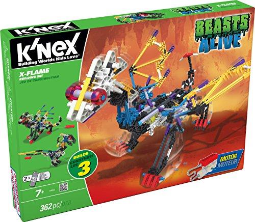 K'NEX Beasts Alive X-Flame Building Set JungleDealsBlog.com
