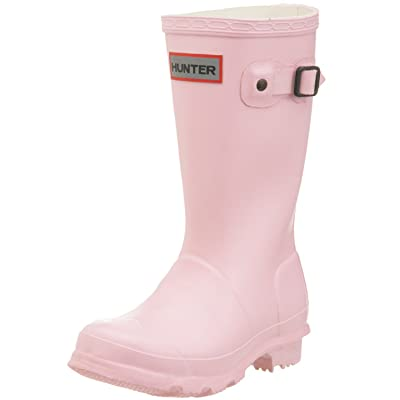 Hunter Kids Junior Young Original Pink Fashion Winter Wellies Wellington Boots