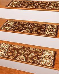 NaturalAreaRugs Sydney Carpet Stair Tread, 9\