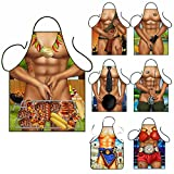 Sexy Novelty Funny Naked Kitchen Cooking Chef BBQ Party Apron Chef Baking Cake Decorating Apron