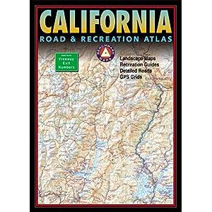 【クリックでお店のこの商品のページへ】Benchmark California Road & Recreation Atlas [ペーパーバック]