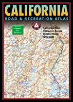 Benchmark California Road & Recreation Atlas, Fifth Edition (Benchmark Road & Recreation Atlas)