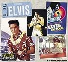 2012 Elvis Wall Calendar
