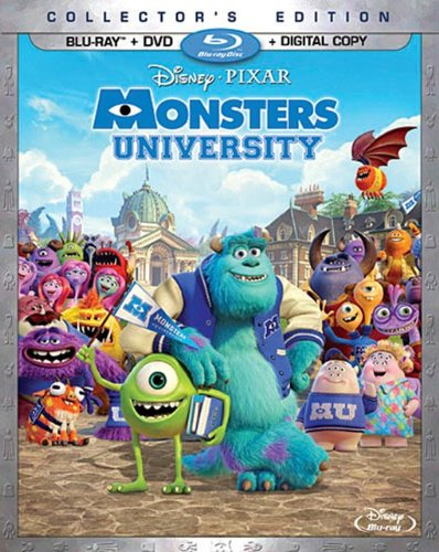 Monsters University (Blu-ray + DVD + Digital