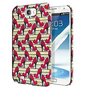 Theskinmantra Stilletoes Back Cover for Samsung Galaxy Note 2