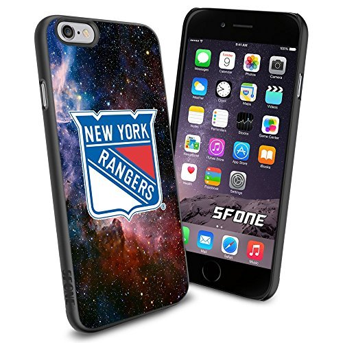 New York Rangers Nebula #1823 Hockey iPhone 6 (4.7) Case Protection Scratch Proof Soft Case Cover Protector (Ranger Proof compare prices)