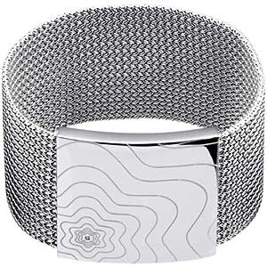 Montblanc 101448 - Collar de mujer de plata de ley, 43 cm