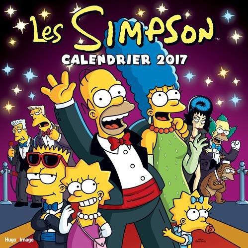 calendrier-mural-les-simpson-2017