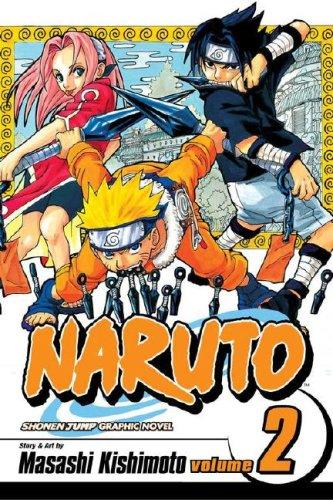 NARUTO -ナルト- コミック2巻 (英語版)