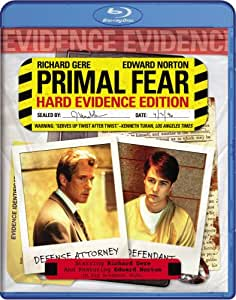 NEW Gere/norton/mahoney - Primal Fear (Blu-ray)