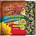 F.M. Brown's Garden Chic Wild Bird Mini Seed Cakes, 8-Ounce, Cardinal/Songbird with Fruit