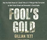 Gillian Tett Fool's Gold: How the Bold Dream of a Small Tribe at J.P. Morgan Was Corrupted by Wall Street Greed and Unleashed a Catastrophe