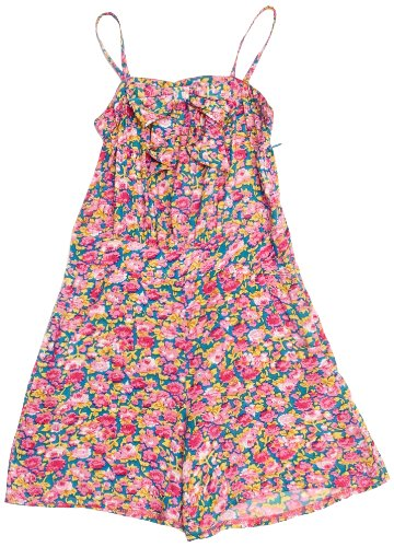 Yumi Girls Floral Girl's Jumpsuit