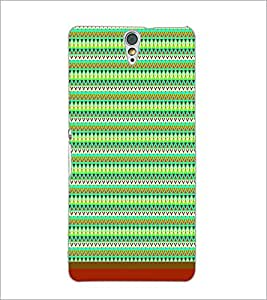 PrintDhaba Tribal Pattern D-1720 Back Case Cover for SONY XPERIA C5 ULTRA (Multi-Coloured)