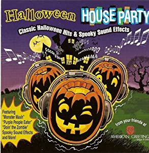 Various artists halloween house party for Classic house party songs