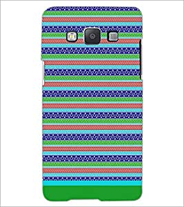 PrintDhaba Tribal Pattern D-1726 Back Case Cover for SAMSUNG GALAXY E5 (Multi-Coloured)