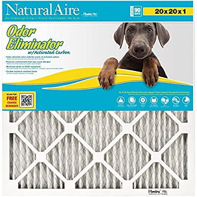 NaturalAire Odor Eliminator Air Filter with Activated Carbon