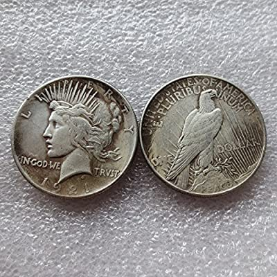 2 Pcs /lot 1921 Peace Dollars Coins