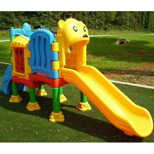 Kidwise Playland Kidcenter #3 - Commercial Playground Structure front-267847