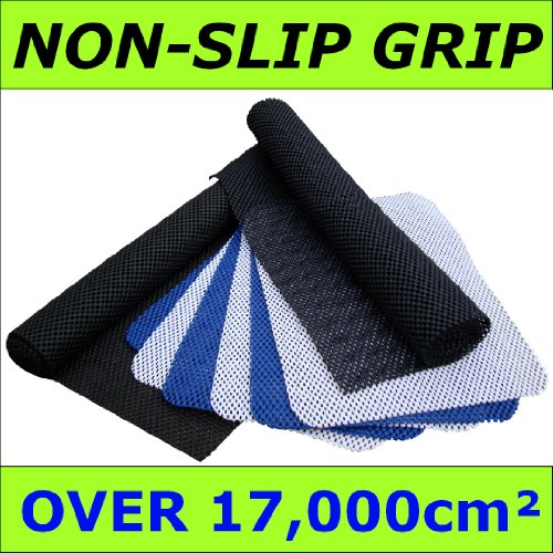 NON-SLIP GRIP Value Pack - ULTIMATE Extra Thick 400 gsm - Over 17,000 cm2 of Professional quality Gripper Material - Use under RUGS, MATS, Line all DRAWERS, Use as CAR BOOT LINER, Dashboard Grip - 100's OF USES!