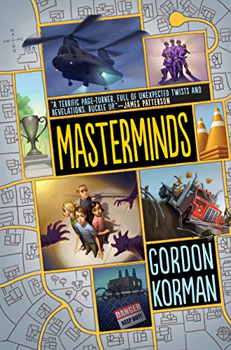 Masterminds by Gordon Korman (cover image)