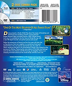 My Neighbor Totoro (Two-Disc Blu-ray/DVD Combo) from Walt Disney Home Entertainment Presents A Studio Ghibli Film
