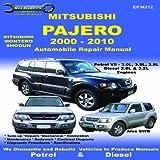 Mitsubishi Pajero 2000 to 2010 (Max Ellery's Vehicle Repair Manuals)