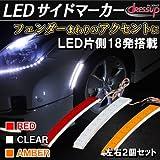 LEDフェンダーサイドマーカー レッド