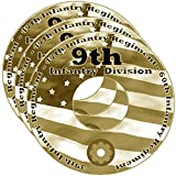 img - for 9th Infantry Division WW2 RESEARCH CD OF BOOKS, INFO, FILES, REPORTS, NARRATIVES, HISTORY 3CDs book / textbook / text book