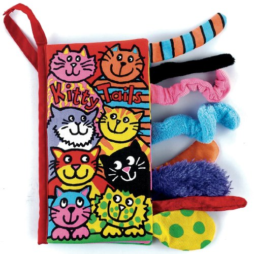 Jelly Cat Jellycat Soft Books, Kitty Tails