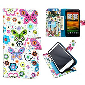 DooDa PU Leather Wallet Flip Case Cover With Card & ID Slots & Magnetic Closure For Nokia Lumia 510