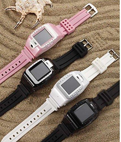 2014 Latest Authentic Watch Phone Yami Ah M The N800 Enhanced N388 Wrist Watch Mobile Phones (Silver Black)