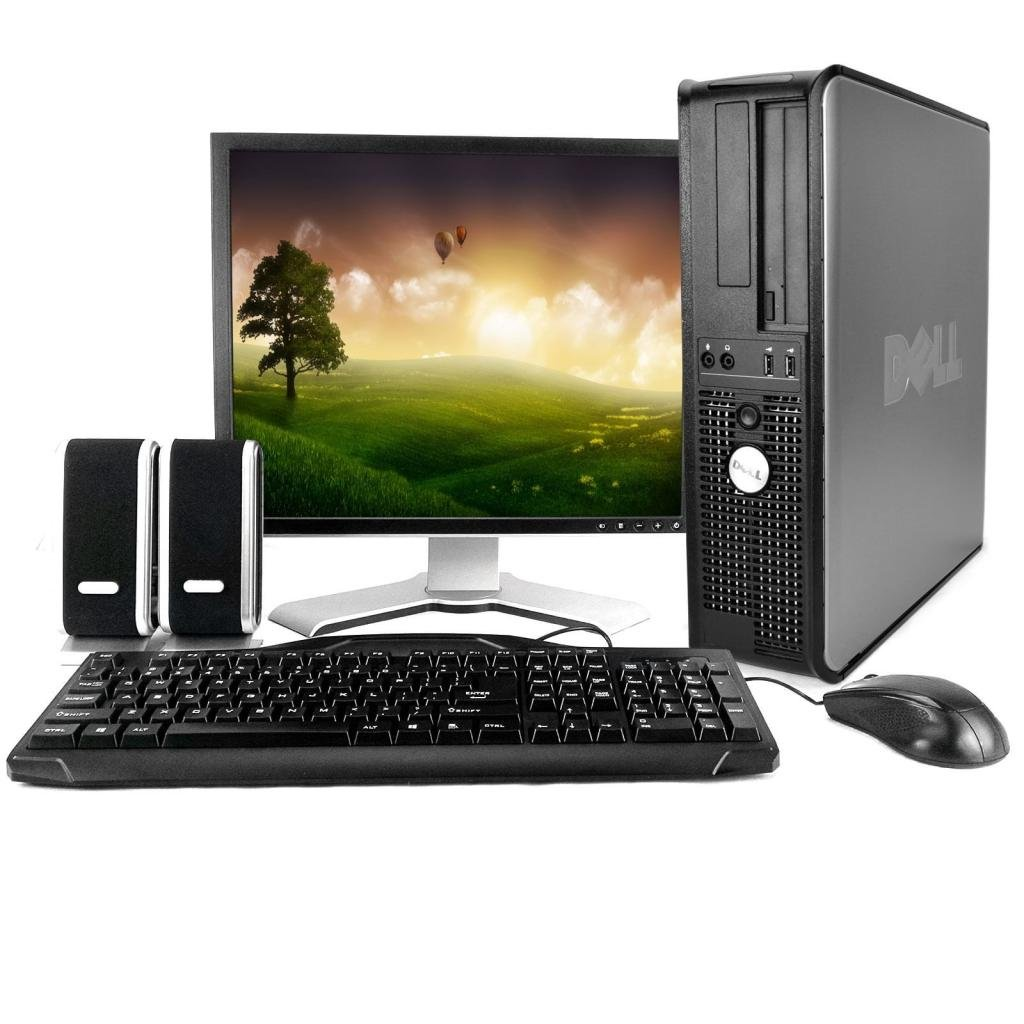 Dell OptiPlex 745 Desktop Complete Computer Package with Windows 7 Home 32-Bit