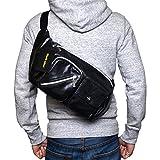 (Marib select) 斜めがけバッグ ボディバッグ 大容量の横長タイプ ワンショルダーバッグ ショルダーバッグ 鞄 バッグ ヴィンテージ風 (2カラー)