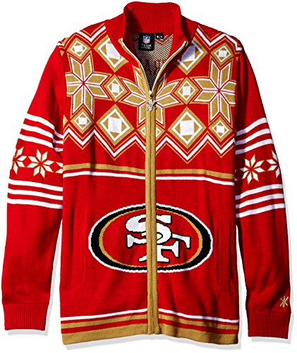 49ERS UGLY SWEATER JACKET