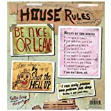 Blue Q - House Rules Magnet Set