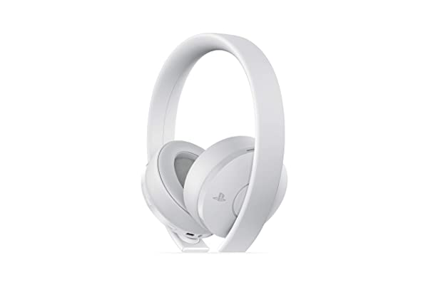 PlayStation Gold Wireless Headset White - PlayStation 4 (Color: White)