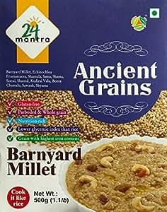 24 Organic Mantra Products Barnyard Millet, 500g