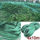 Yahee Teichnetz 4 x 10m Laubnetz Vogelschutznetz Laubschutznetz Gartennetz Netz