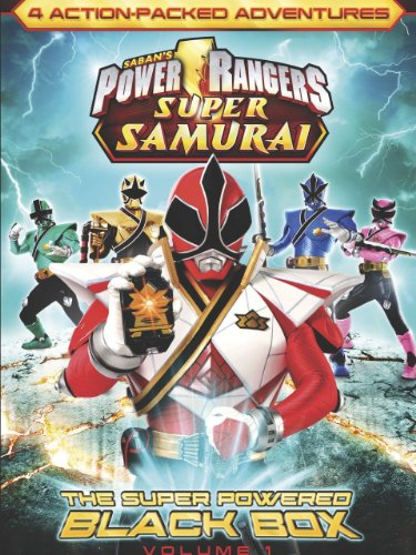 Power Rangers Super Samurai: The Super Powered Black Box (Vol. 1) front-627964
