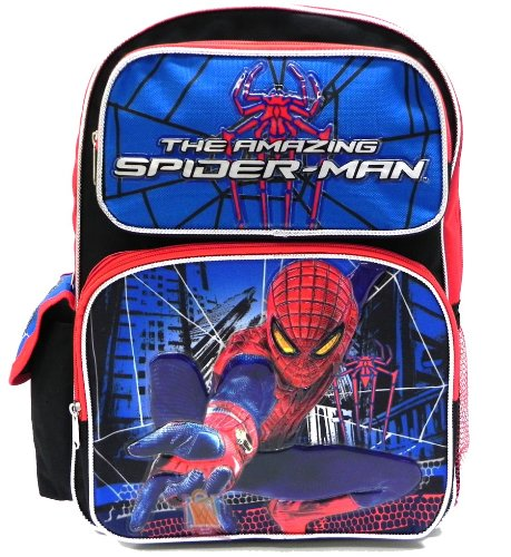 "Spiderman Large 16"" Backpack front-965755"