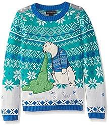 Blizzard Bay Big Boys' Polar Bear Light Up Vomit, Blue/Cream/Green, Large